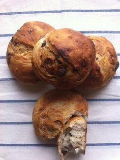 Las recetas de la familia Tartufo: Pan con chocolate y pomelo (con masa madre)
