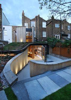 De beauvoir road house extension