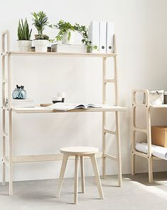 Scandinavian Desk, Mid Century Modern Armchair, Mid Century Desk, Tall Desk, Plywood Suppliers, Cnc, Bookcase Desk, Plywood Projects, Desks