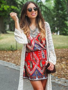 Nany's Klozet : Boho vibes with Ariat during NYFW featuring a Prima donna statement necklace