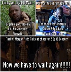 Funny, how some people were wanting an episode of Morgan. But when it finally got here, everyone was focused on Glenn.