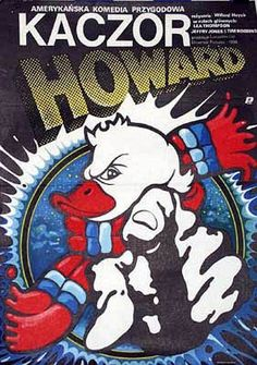 polish howard the duck poster