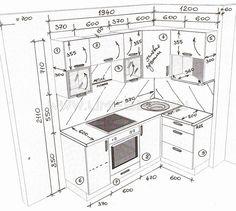 Картинки по запросу глубина кухонного верхнего ящика