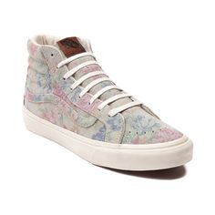 bd6698c88c Shop for Vans Sk8 Hi Slim Skate Shoe in Vintage Floral at Journeys Shoes.  Shop