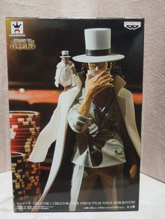 New One Piece Film Gold Creator × Creator Rob Rucchi Figure  #BANPRESTO