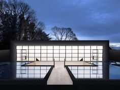 Ghost House in Stratford-upon-Avon, England by BNP Architects. British Architecture, Residential Architecture, Hampshire House, Ghost House, Concrete Interiors, Mews House, Copper Roof, British Home, Arquitetura