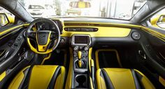 Carlex Design Chevrolet Camaro Bumblebee Modified