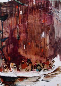 RAO FU | WORKS Dresden, Figure Painting, Figurative, It Works, Nature, Inspiration, Art, Biblical Inspiration, Art Background