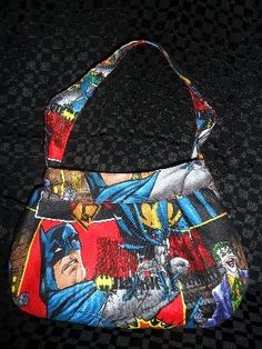 Superhero BatMan buttercup bag