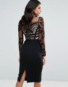fall #outfits · Purple Bandage Dress | Outfit, Ruhák és