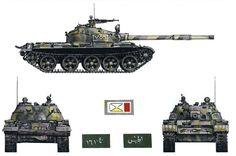 """""""T-62 Model 1972, Syrian Mechanized Division, Bekaa Valley, Lebanon, 1982"""", Tony Bryan"""