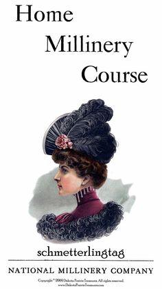 1909 Edwardian Gibson Girl Era Millinery Book by schmetterlingtag, $16.99
