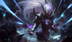 League of Legends item Nightblade Irelia at MOBAFire. League of Legends Premiere Strategy Build Guides and Tools. Lol League Of Legends, Evelynn League Of Legends, League Of Legends Account, Fantasy Characters, Female Characters, Overwatch, Desenhos League Of Legends, Splash Art, Character Art