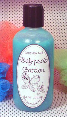 Calypso's Garden Tropical Luxury Handmade by GardenGateHollow