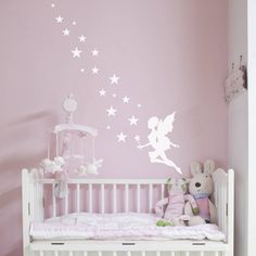 A stunning fairy magic wall sticker.Available in a range of colours to compliment any room in your house. Please see the colour chart image available as a thumbnail image for full colour options.Nutmeg's beautifully designed wall stickers and wall quotes are a stylish, modern way to decorate a room or carry out a room makeover, without the mess. They're easy to apply and remove, just follow the simple instructions included with your purchase. Our wall stickers can be applied to any clean…