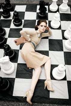 'In the Sweetness of Day' Vogue Nippon, August 2008  Photographer: Arthur Elgort  Model: Coco Rocha