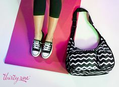 The Explorista Crossbody is perfect for going to the gym or yoga!