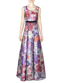 Naughty Dog FW1617 long dress with Autumn prints
