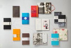 Add a Custom Logo to Moleskine Notebooks.