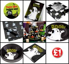 Monster value when you buy Halloween at Poundland, create the perfect Halloween party! Halloween 2014, Halloween Items, Halloween Party Decor, Cute Ghost, Loot Bags, Box Cake, Cute Babies, Bowls, Competition