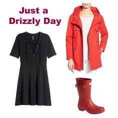 Dots N Bows: May Showers #LightRain #LiquidSunshine #RainyDay #OutfitIdea #Blogger #Blogging #FBlogger #Fashion #Clothing