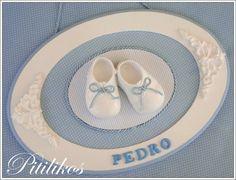 plaquinha de porta maternidade menino João - Pesquisa Google