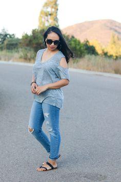 Shirt: Nation LTD; Jeans: Jessica Simpson ; Shoes: Steve Madden #OOTD