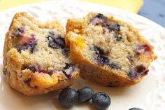 Nectarine Blueberry Muffin 2