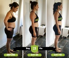 21 Day Fix Results - 30 minute workouts and healthy, clean eating - Join my next challenge group to start your journey!! gina.notes26 {at} gmail.com