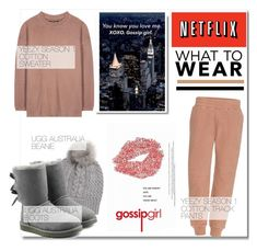 """""""Yeezy & UGG Australia..."""" by nfabjoy ❤ liked on Polyvore featuring Michael Kors, adidas Originals, UGG Australia, UGG and WhatToWear"""