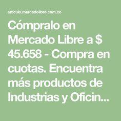 Cómpralo en Mercado Libre a $ 45.658 - Compra en cuotas. Encuentra más productos de Industrias y Oficinas, Industria Textil, Máquinas de Coser, Pfaff.