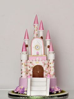 Princess Dream Castle Cake