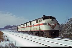 RailPictures.Net Photo: SAL 3045 Seaboard Air Line EMD E7(A) at Millbrook, North Carolina by Wharton Separk