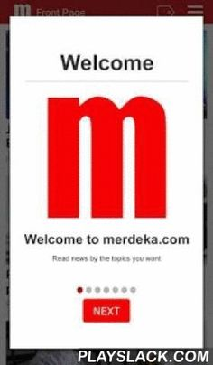 Merdeka.com  Android App - playslack.com ,  Merdeka.com delivers the latest breaking news and information on the latest top stories, politics, Jakarta, crime, economy, sport, entertainment and technology in the smart way on your Android device.The Merdeka.com app also provide interesting features on lifestyle, health, automotive, and many more, carefully tailored to meet your needs for information.Check out our photo news section and experience the news in a different way.We are always…
