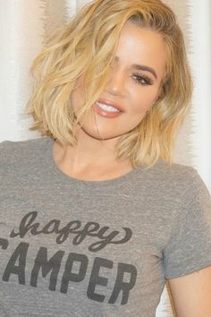 Khloe Kardashian's new tousled lob is her shortest hair yet - and a style that looks good on basically everyone.