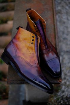 http://chicerman.com  dandyshoecare:  You can order the boots of your dreams right now:  http://ift.tt/1T8SSyu  #menshoes