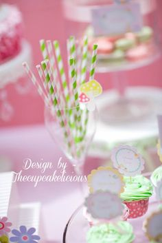Party Inspirations: Fairy Party By The Cupcakelicious-Couture Cakes & Gifts