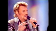 """Johnny Hallyday et Florent Pagny """"Pense à moi"""" Parc des Princes 2003"""