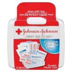 Johnson & Johnson Essential First aid Items - 12 Count : Target