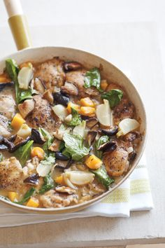 Chicken with Squash, Turnips, and Shiitakes from Blender, Williams-Sonoma's Blog