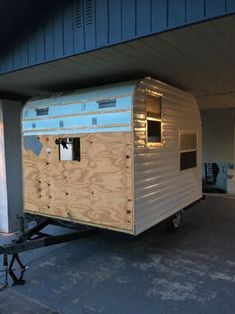 Make Your Own Tiny Camper From Scratch : 10 Steps (with Pictures) - Instructables Home Made Camper Trailer, Camping Trailer Diy, Small Camper Trailers, Trailer Interior, Small Campers, Vintage Travel Trailers, Airstream Interior, Airstream Trailers, Van Camping