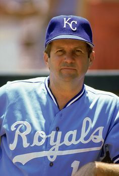Coach Dick Howser of the Kansas City Royals looks on during a MLB game in the 1985 season Baseball Manager, Kc Royals Baseball, Baseball Star, Kansas City Royals, Baseball Photos, The Choice Nicholas Sparks, Nicholas Sparks Quotes, World Series Winners