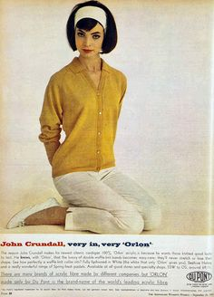 Mod preppy 1960s style - ad