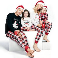 1887c1272008 80 Best Christmas Family Matching Pajamas images