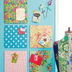 DIY Pinboard : DIY Cork inspiration boards