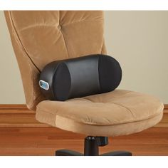 The Hip Deep Tissue Massager - This is massager with a unique shape and powerful percussive nodes that work deep into hip and lumbar tissue to loosen stiff muscles. - Hammacher Schlemmer