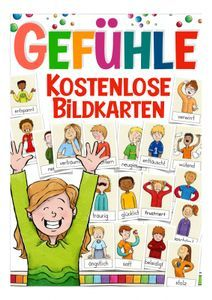 Yoga For Kids, Diy For Kids, Kindergarten Portfolio, German Language Learning, Les Sentiments, Picture Cards, School Fun, Classroom Management, Kids And Parenting