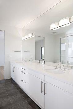 jack and jill bathroom contemporary bathroom