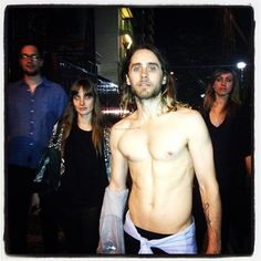 jaredleto That time I was in Rio + chased down the street half-naked, w/ Ben, Emma + Shayla