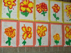 Mrs.Kapsner's 2010-11 Kindergarten Class: Welcome to our Kindergarten Art Gallery!